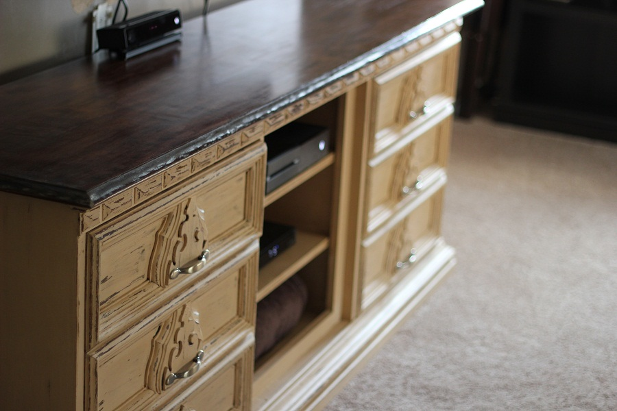 Image of: Dresser Into Tv Stand Pinterest