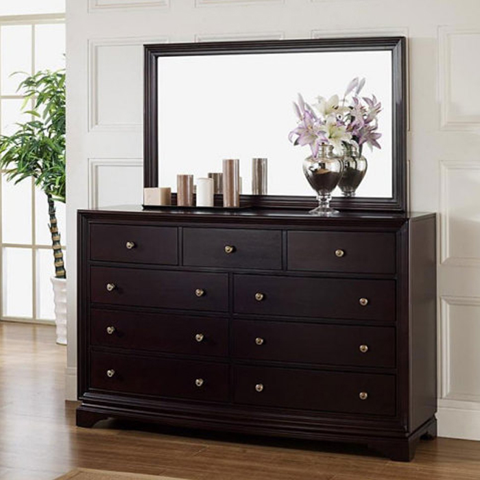 Picture of: Dresser Set with Mirror