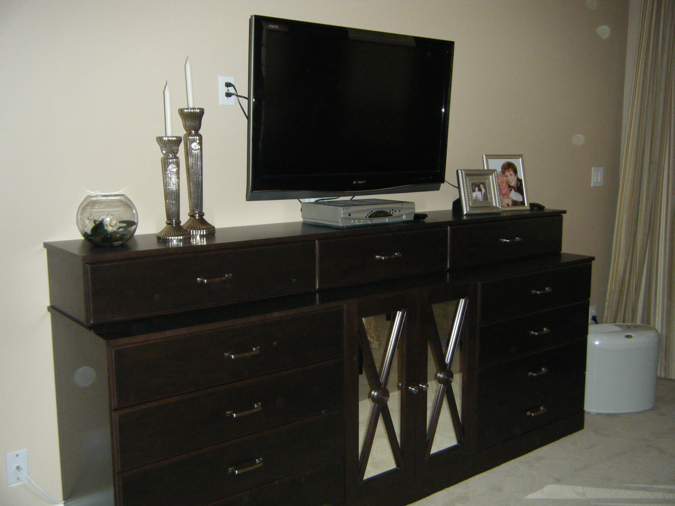 Picture of: Dresser TV Stand Walmart Decor