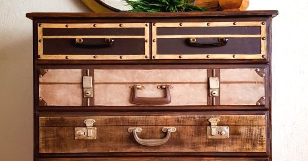 Picture of: Dresser That Looks Like Suitcase