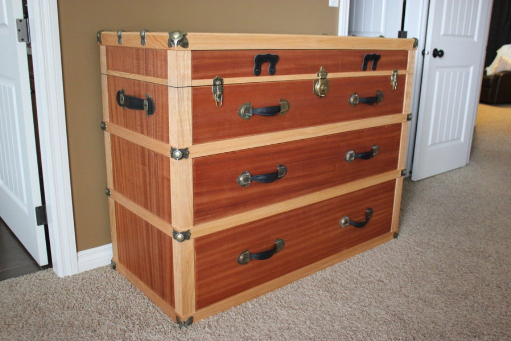 Picture of: Dresser Trunk for Sale
