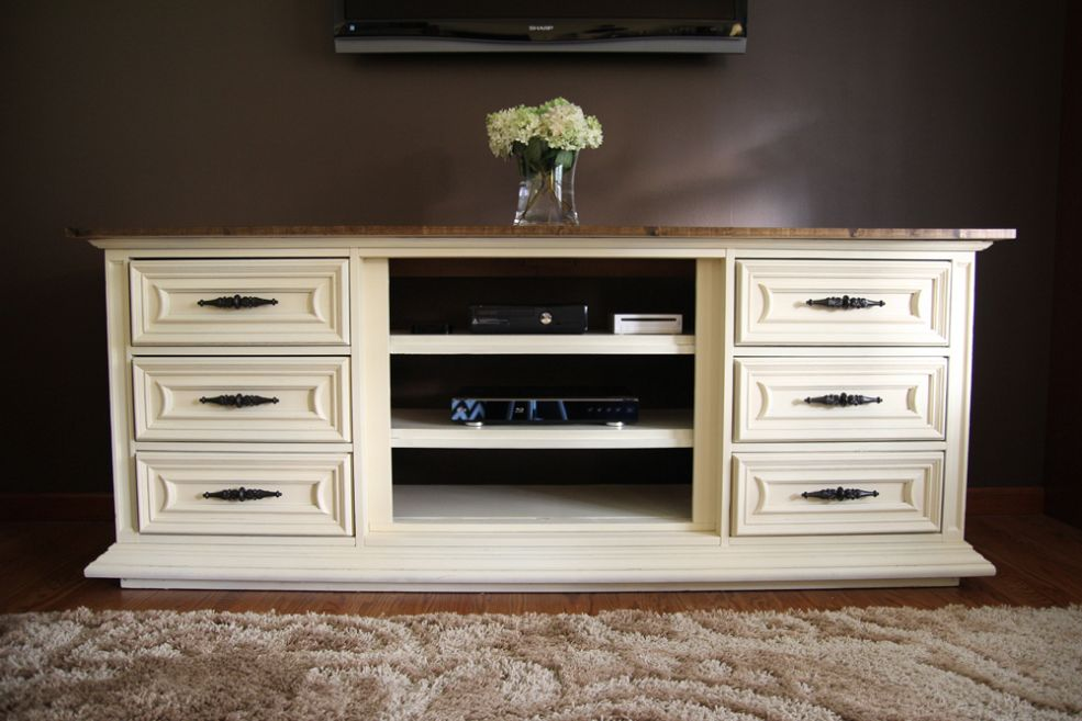 Image of: Dresser Tv Stand Ikea
