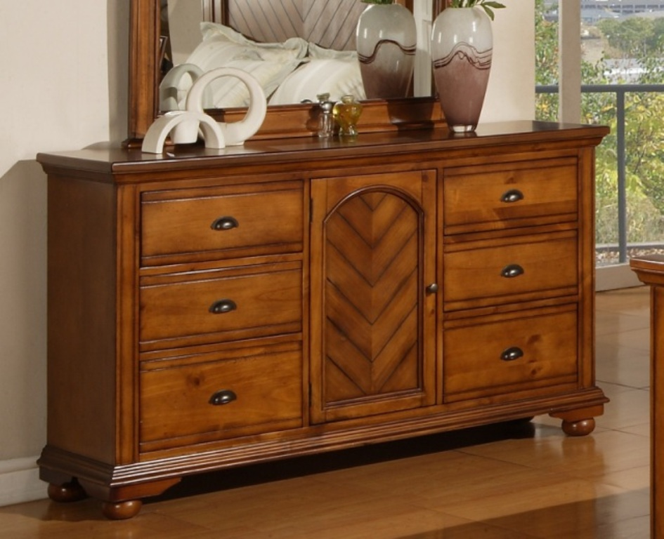 Picture of: Rustic Dresser Walmart