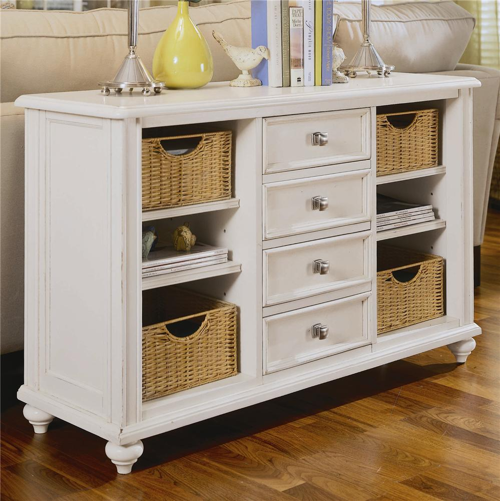 Picture of: Dresser With Baskets Instead Of Drawers