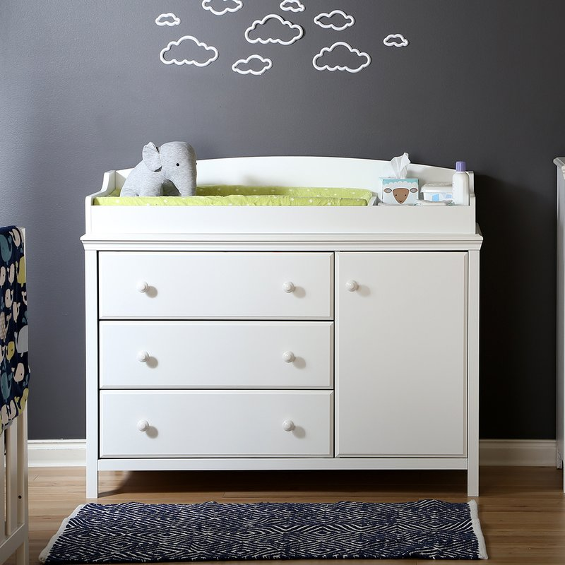 Picture of: Dresser With Changing Table