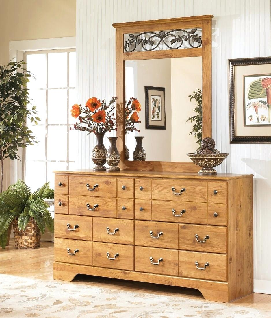 Image of: Dresser With Desk Attached