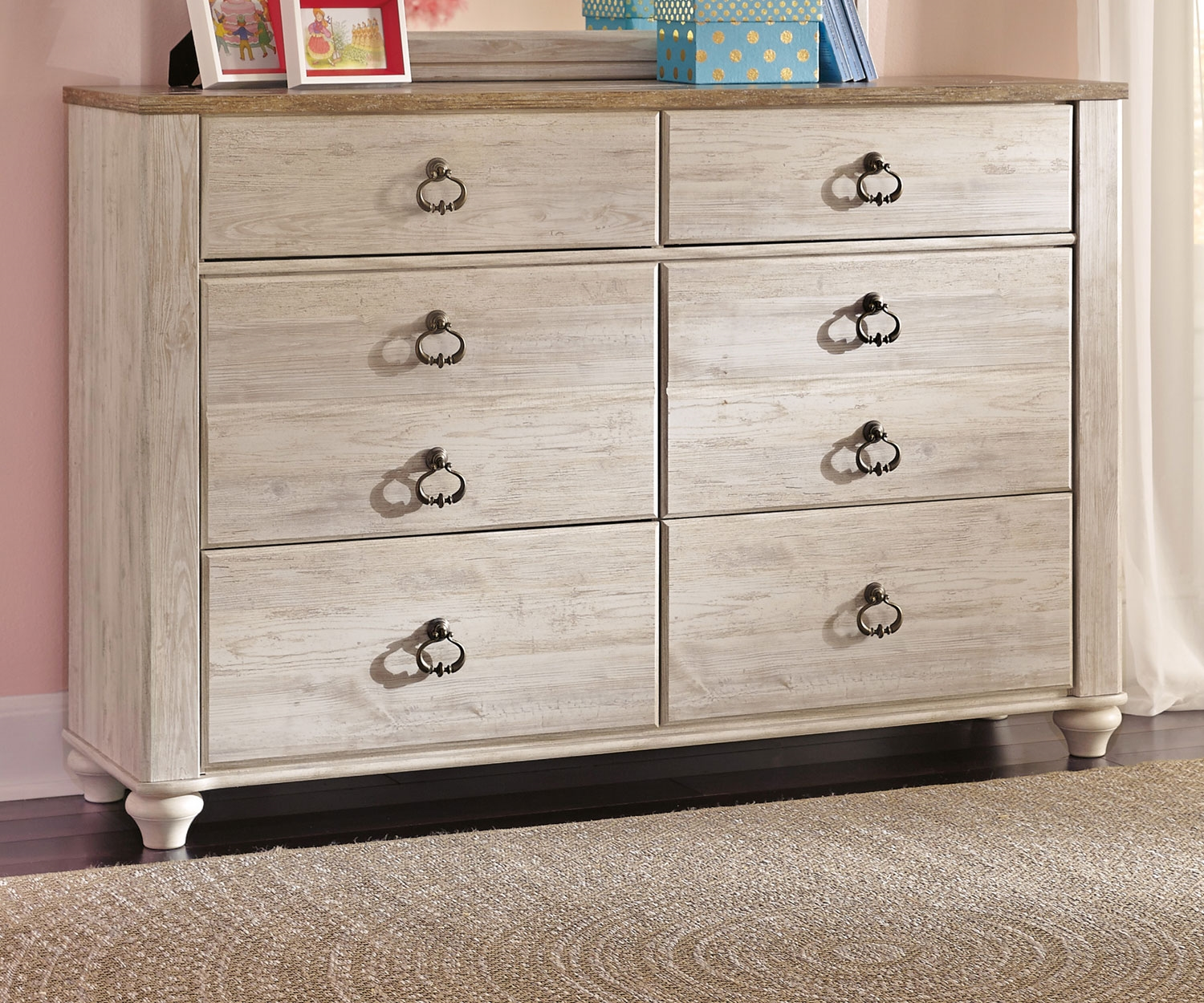 Picture of: Dresser With Mirror Walmart