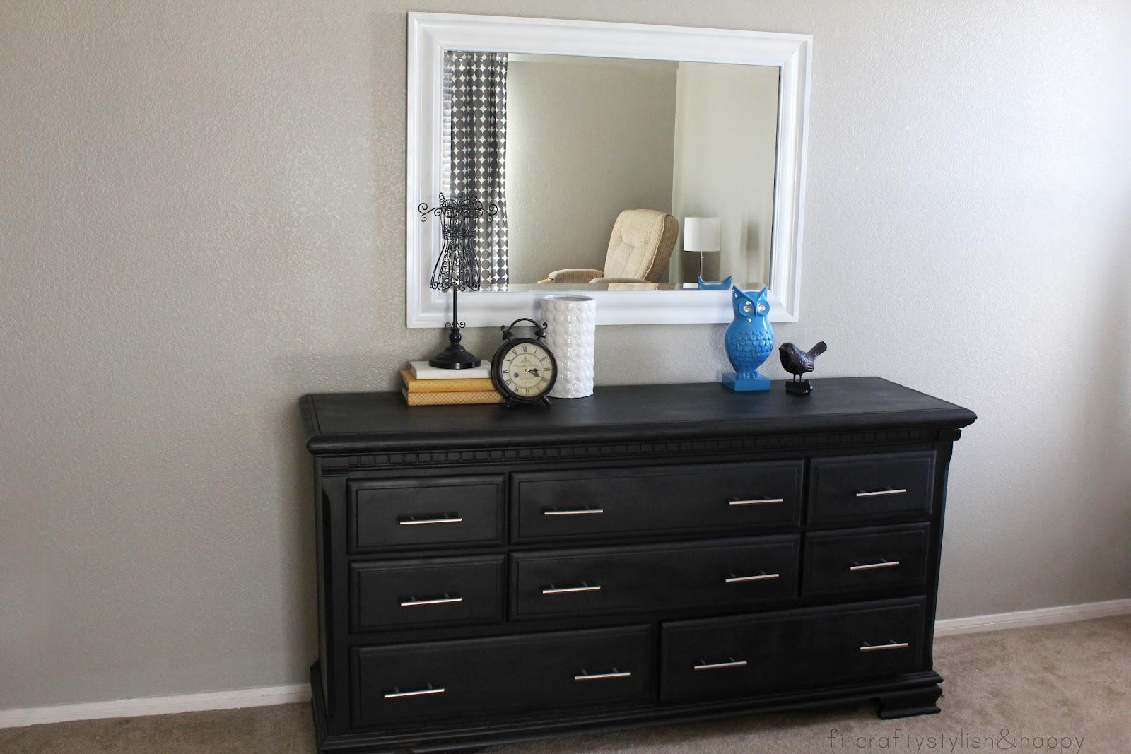 Picture of: Dresser with Mirror Wal-Mart