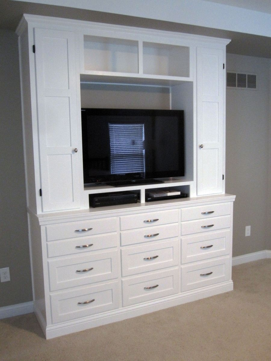 Entertainment Dresser Bedroom
