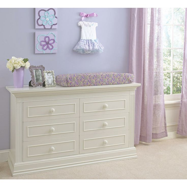 Picture of: Europa Baby White Dresser