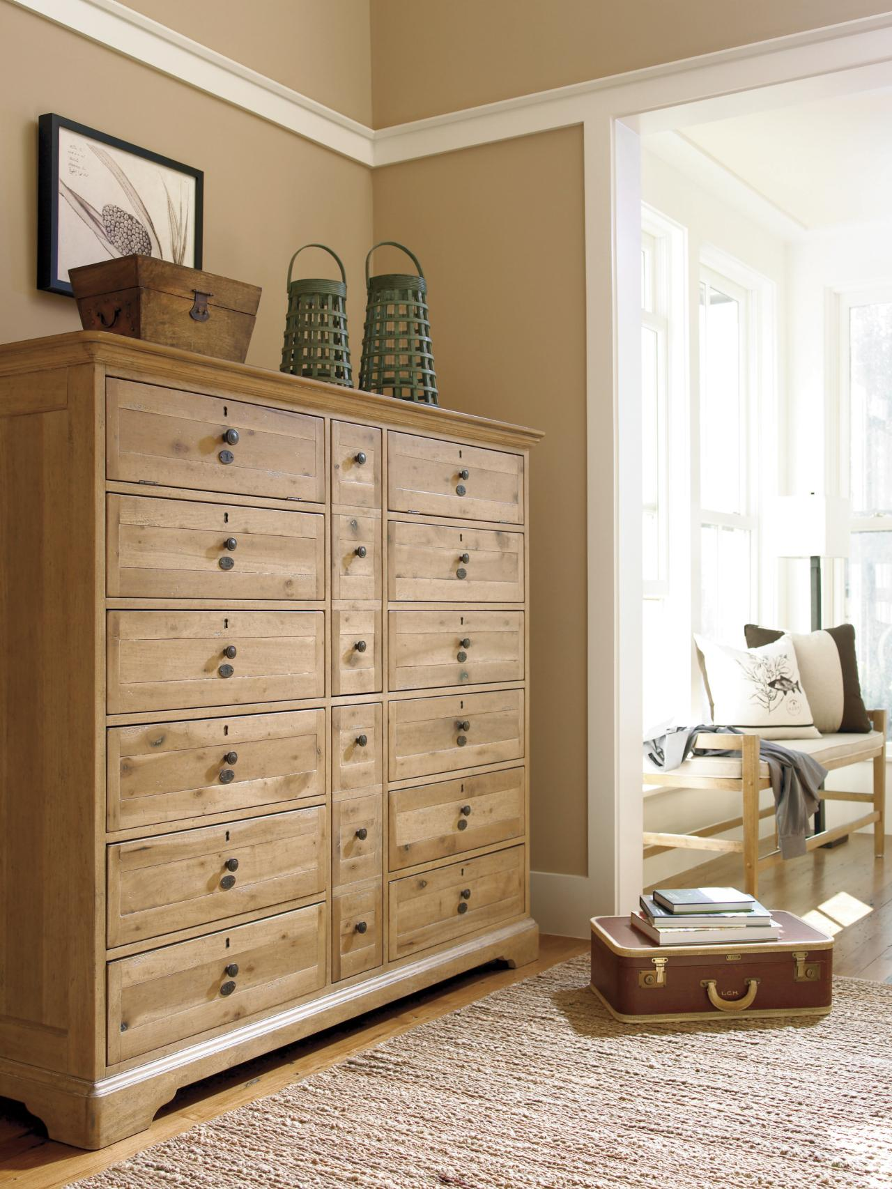 Picture of: Extra Large Tall Dresser Wood