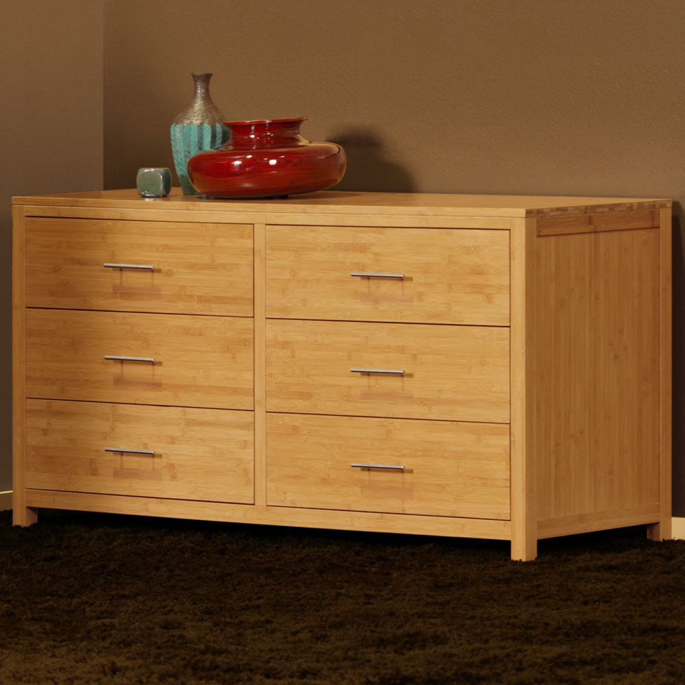 Picture of: Faux Bamboo Dresser