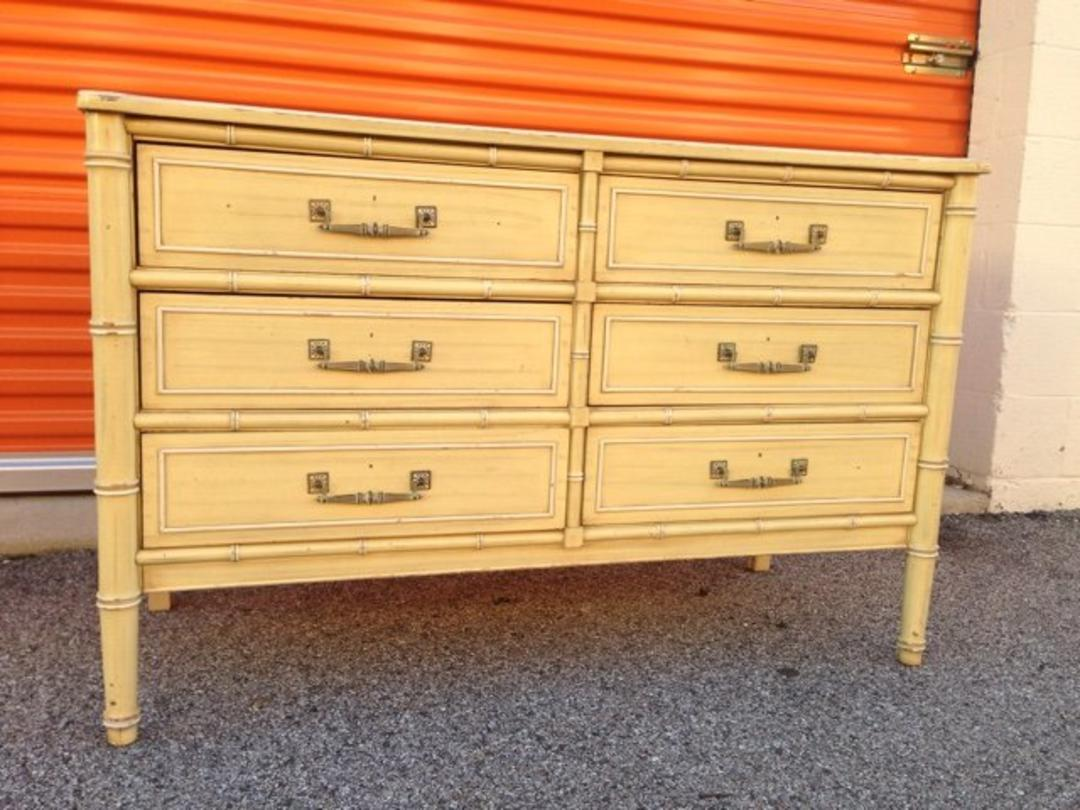 Faux Bamboo Trunk Color
