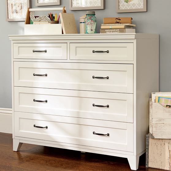 Five Drawer Dresser Hampton