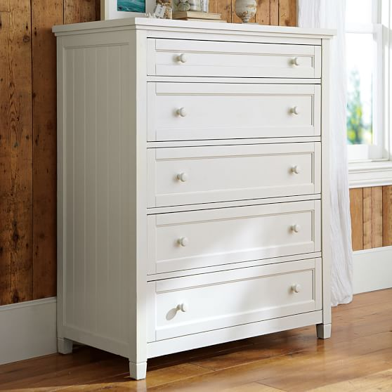 Image of: Five Drawer Nice Dresser