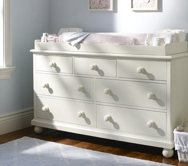Picture of: French White Baby Dresser