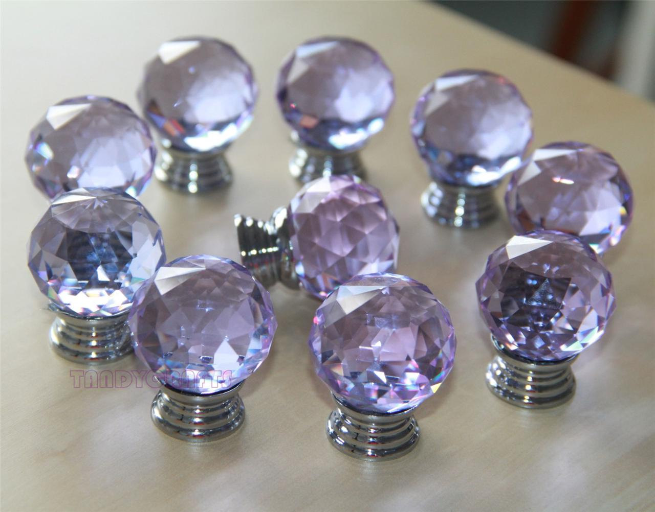 Image of: Glass Small Drawer Pulls Clearance