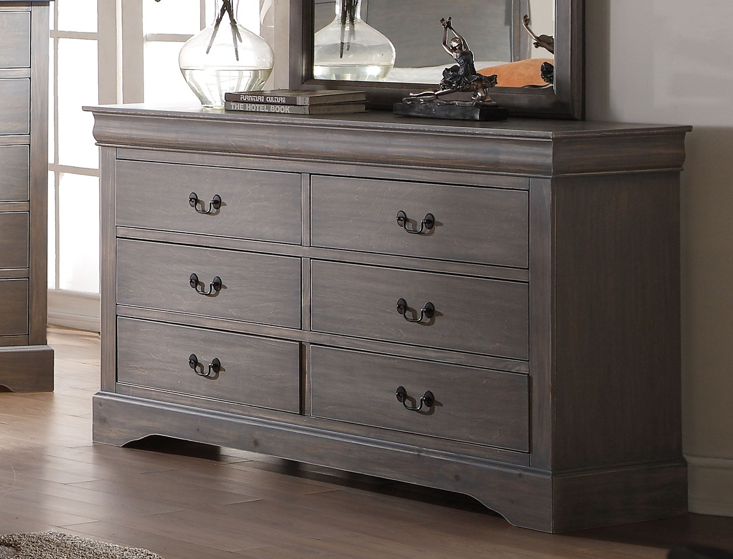 Picture of: Gray Furniture Paint Color Home