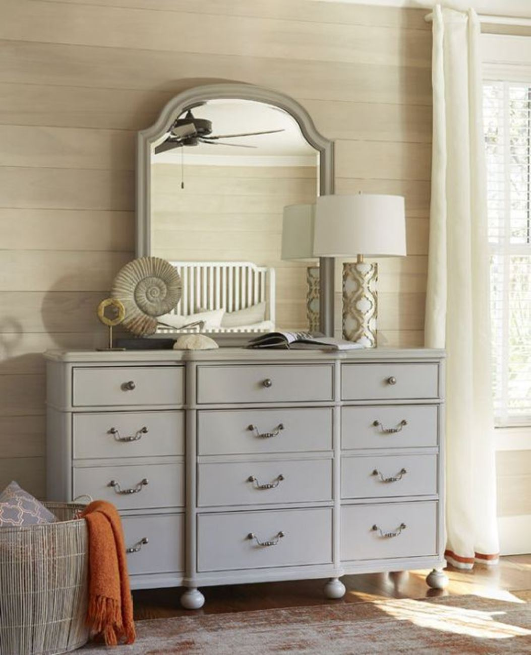 Image of: Gray Modern Dressers Furniture