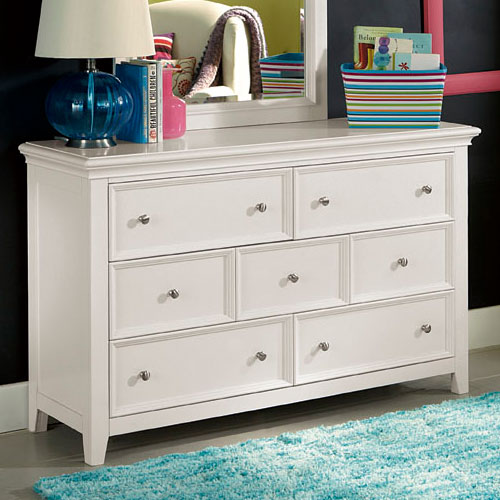 Picture of: Greco Baby Dresser White