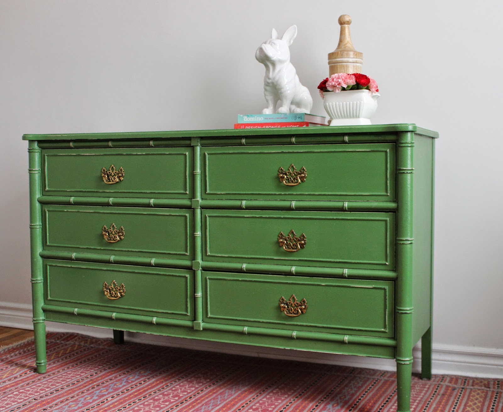 Picture of: Green Bamboo Dresser Furniture
