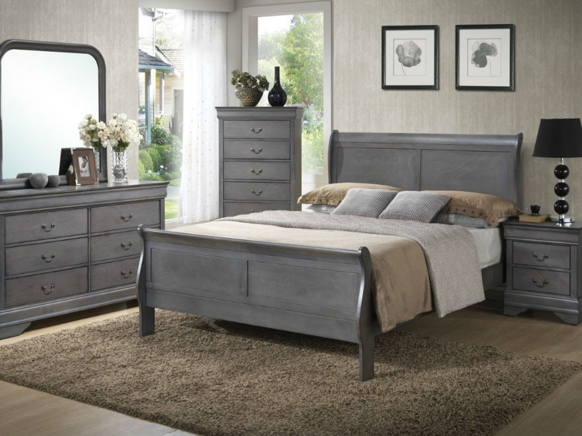 Image of: Grey Bedroom Dressers Chests Ideas