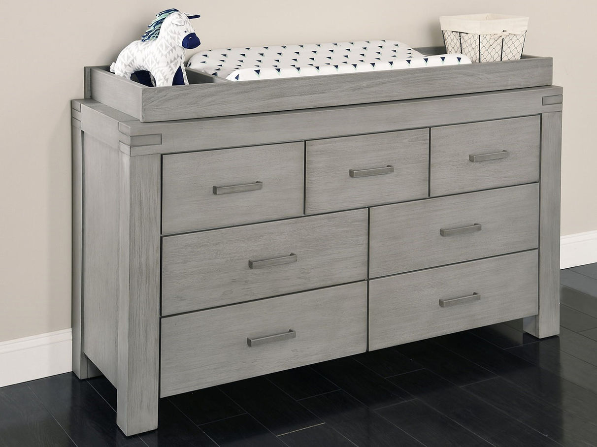 Picture of: Grey Dresser for Baby
