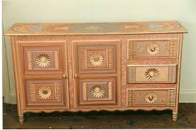 Picture of: Hand Painted Bedroom Dressers