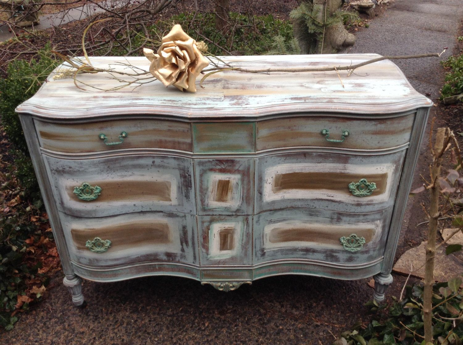 Picture of: Hand Painted Furniture Whimsical