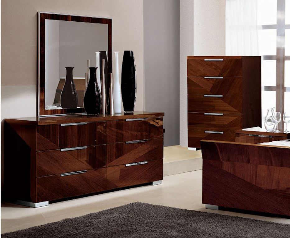 Picture of: High Gloss Black Dresser