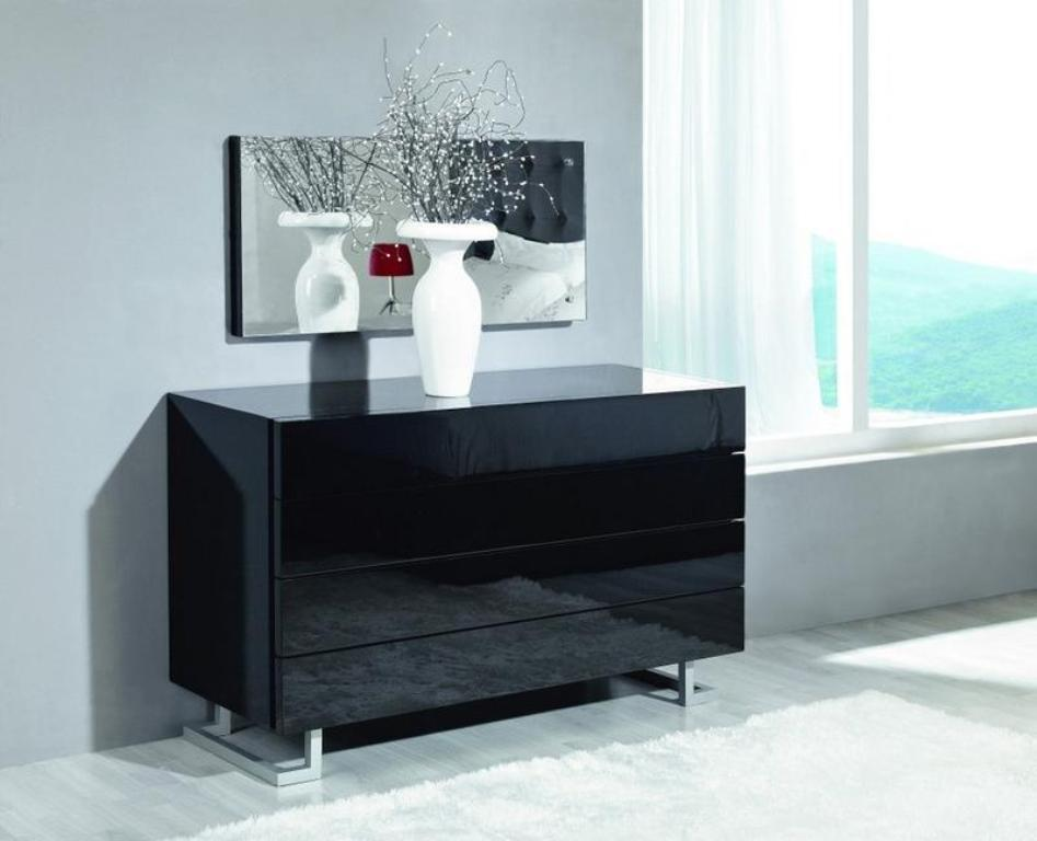 Picture of: High Gloss White Dresser Decors