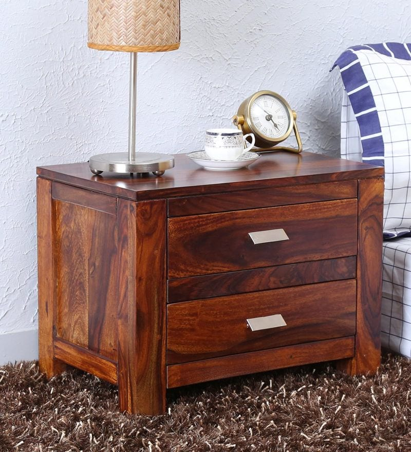 Honey Oak Dresser Lamps