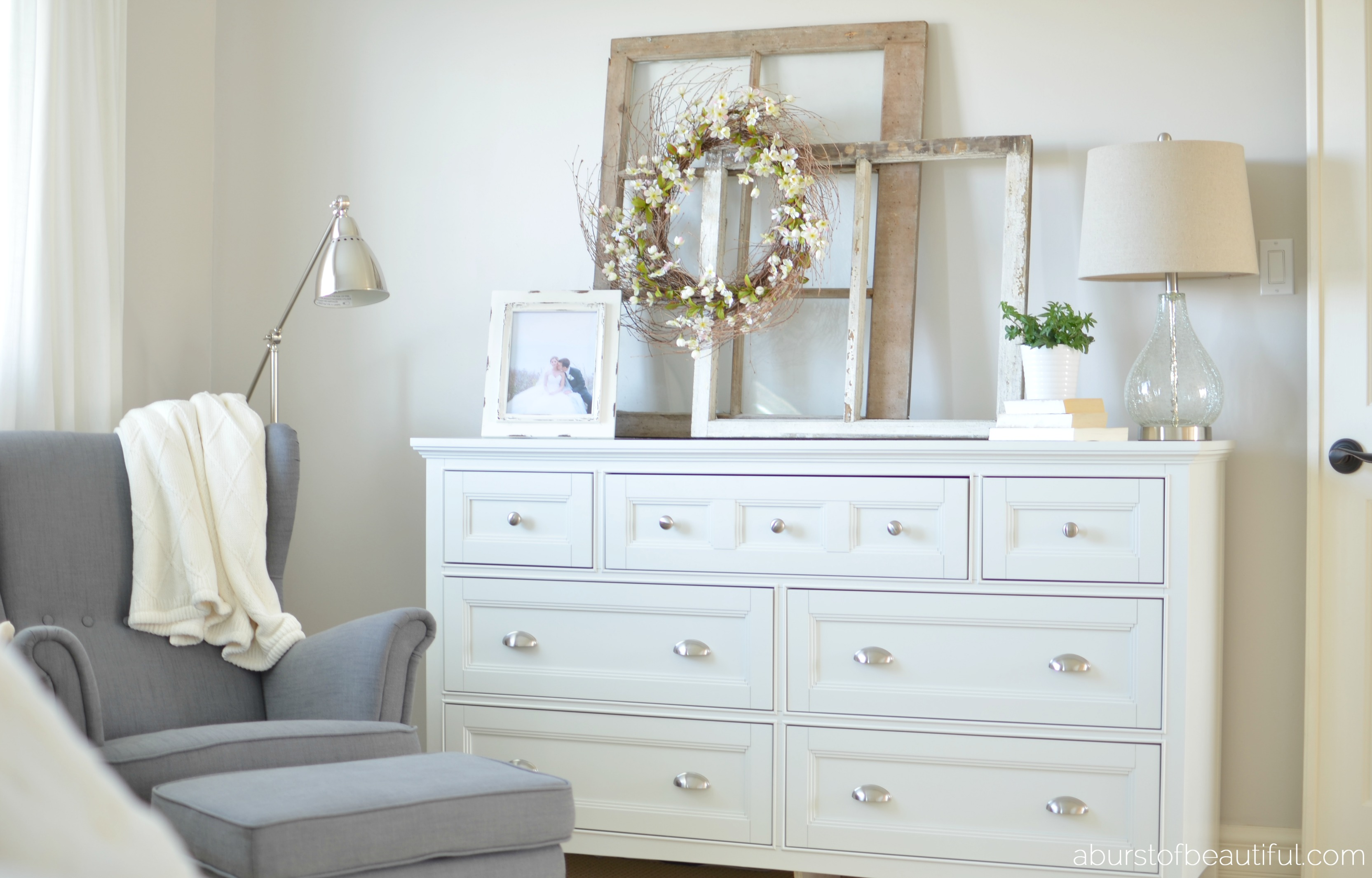 Picture of: How to Style a Dresser