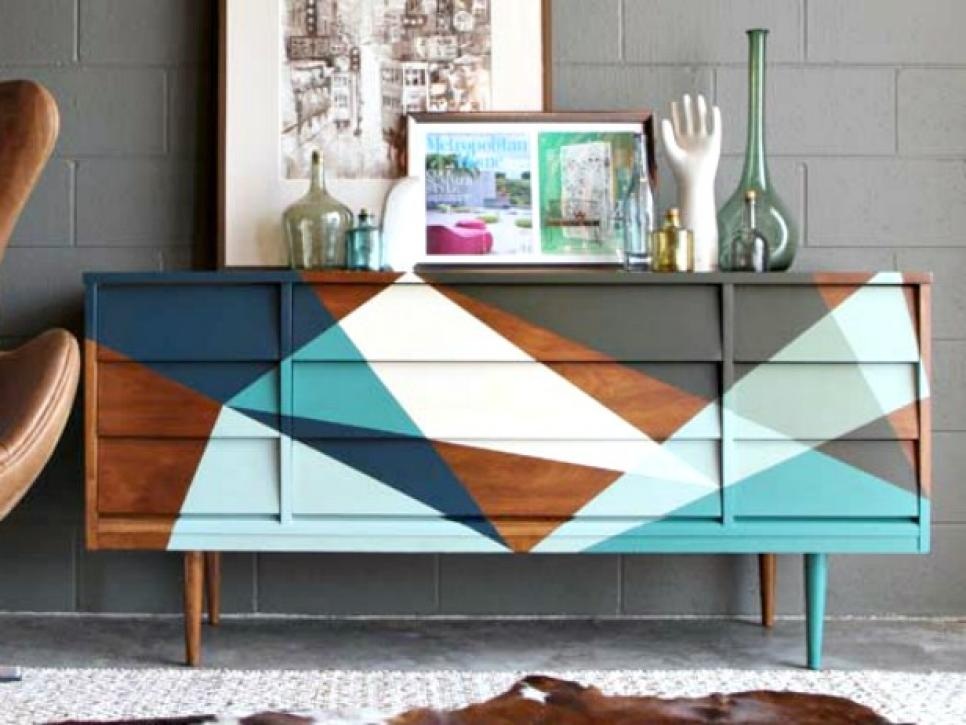 How to Style a Long Dresser
