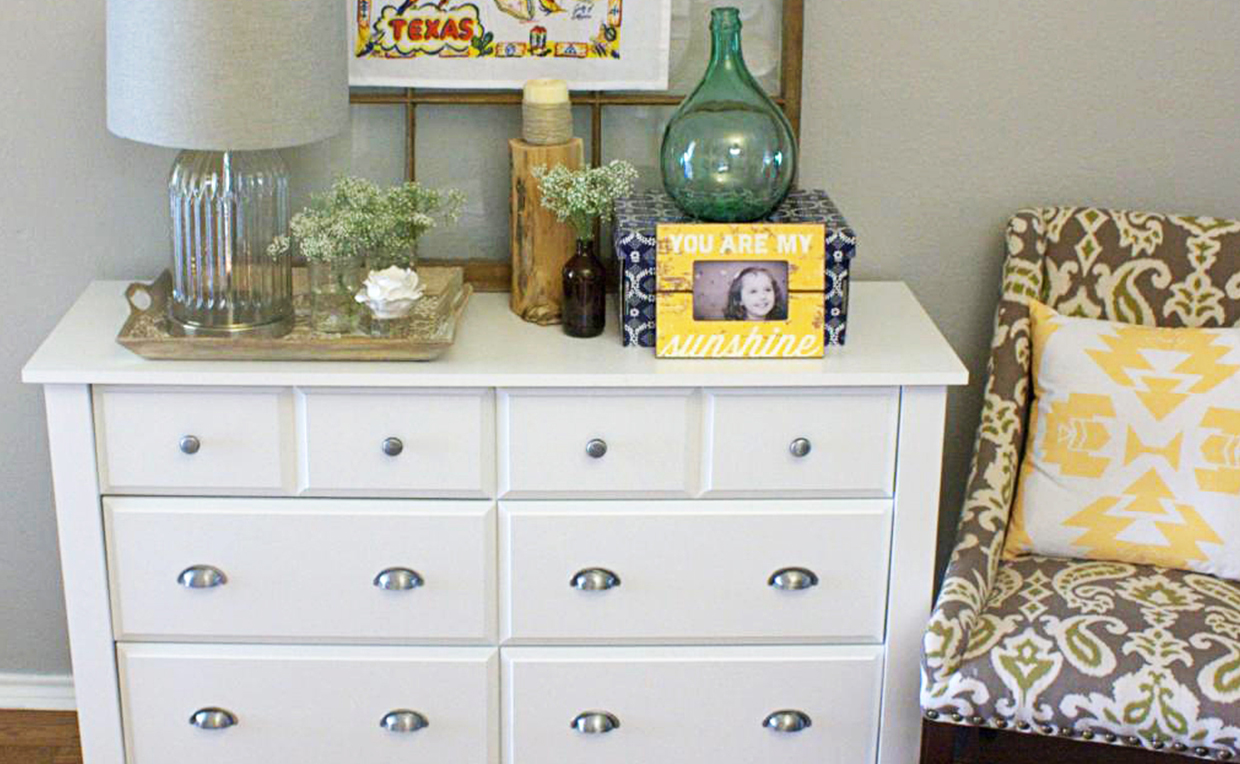 Picture of: IKEA Hemnes 3 Drawer Dresser Style
