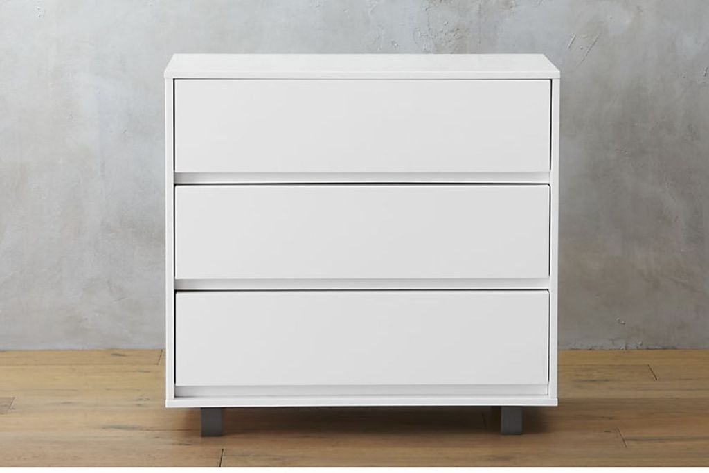 Picture of: White IKEA Malm 4 Drawer Dresser