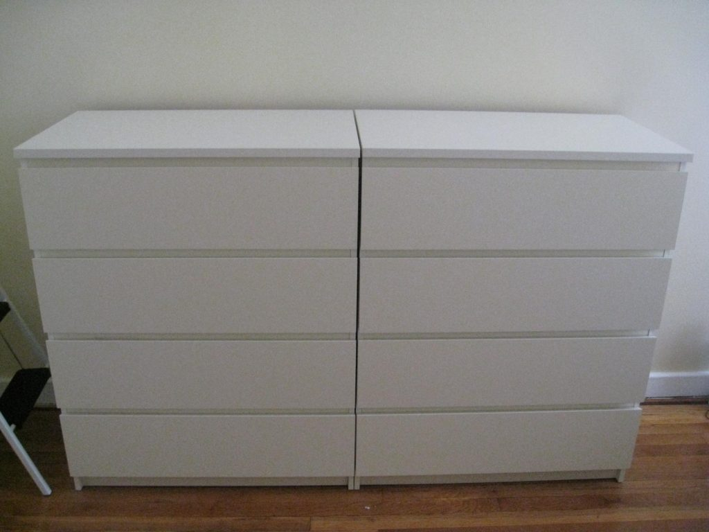 Image of: IKEA Malm 6 Drawer Dresser Instructions Design