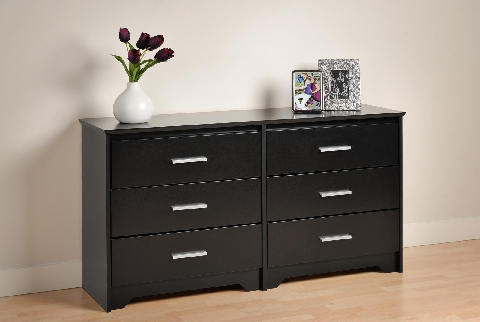 Image of: IKEA Malm 6 Drawer Dresser
