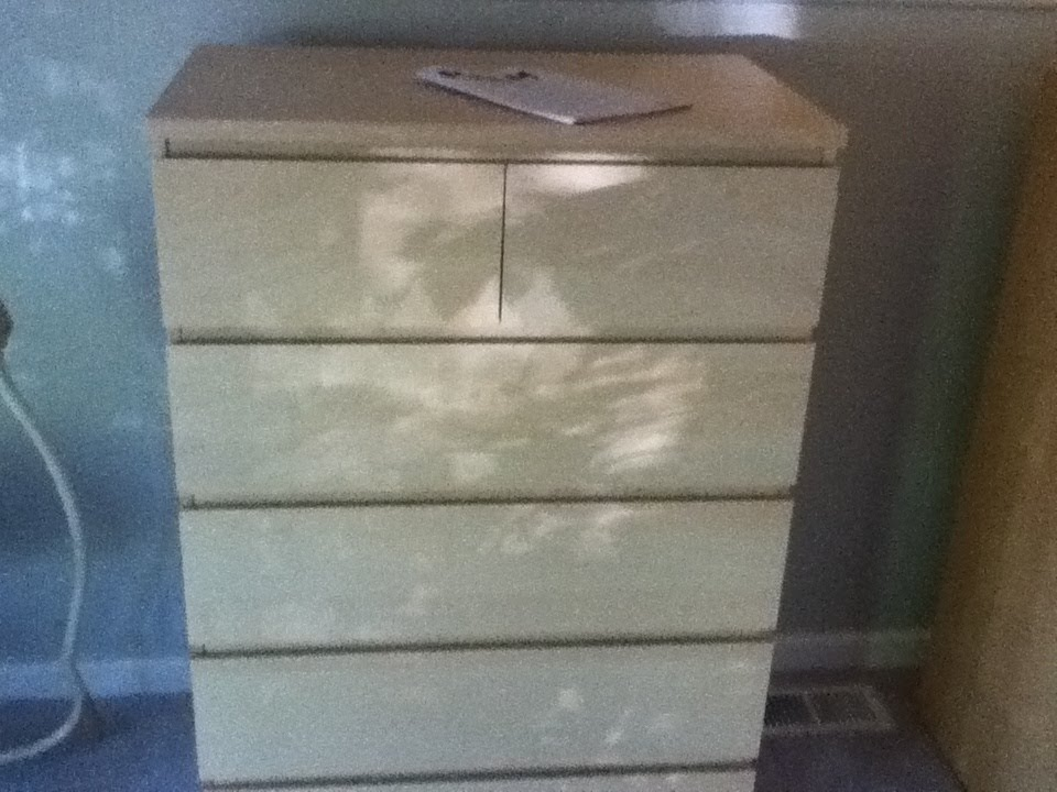 Picture of: Simple IKEA Malm Nightstand