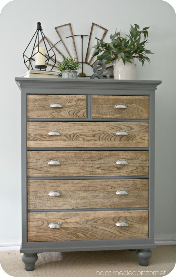 Ideas for Painting Dresser Drawers