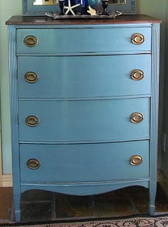Ideas for Painting Wood Dresser