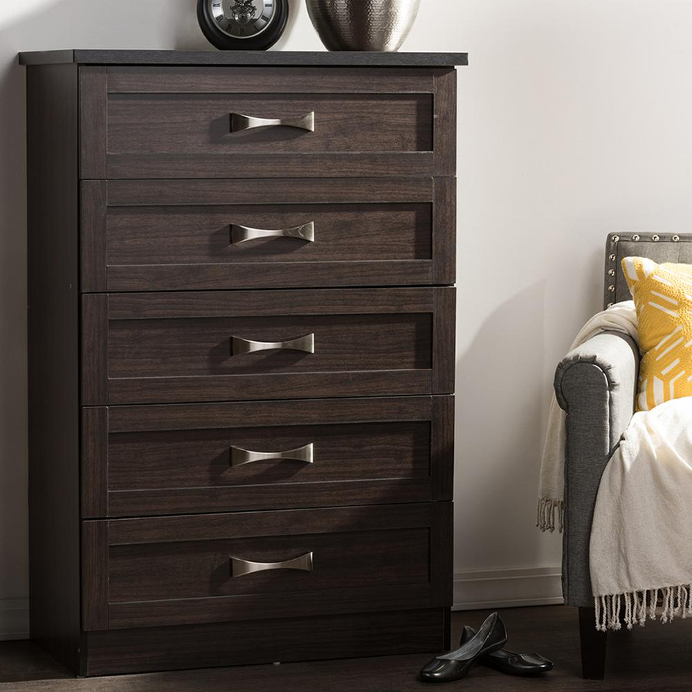 Picture of: Ikea Dresser Malm Brown