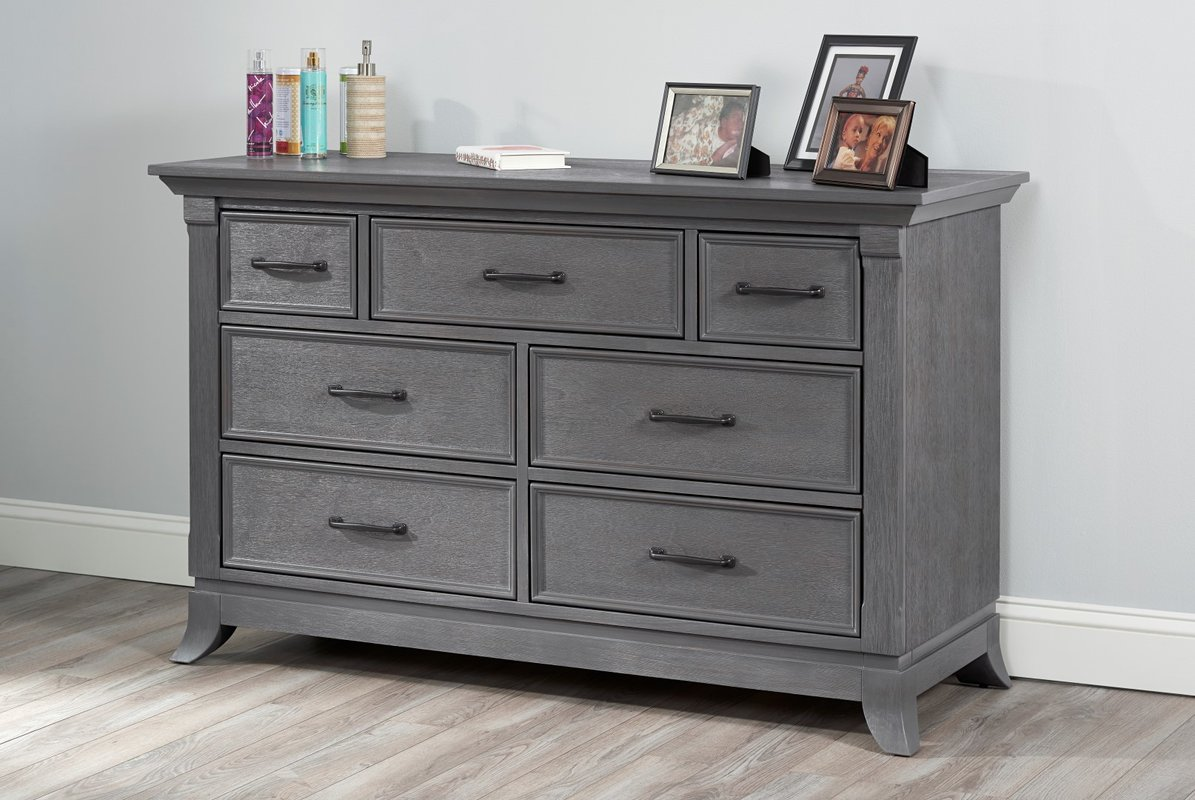 Image of: Ikea Grey Dresser Drawers