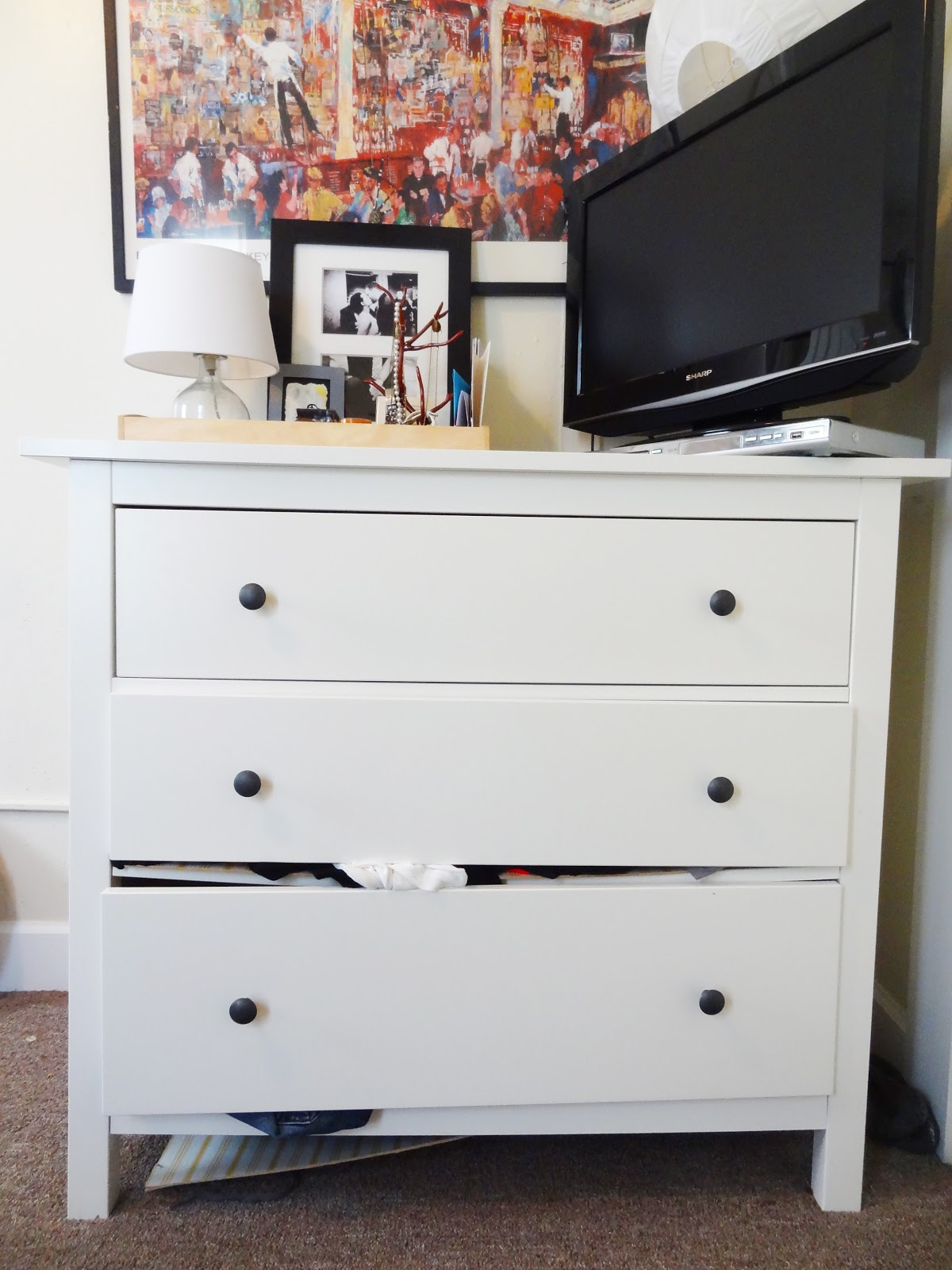 Picture of: Ikea Hemnes 3 Drawer Dresser Assembly Instructions