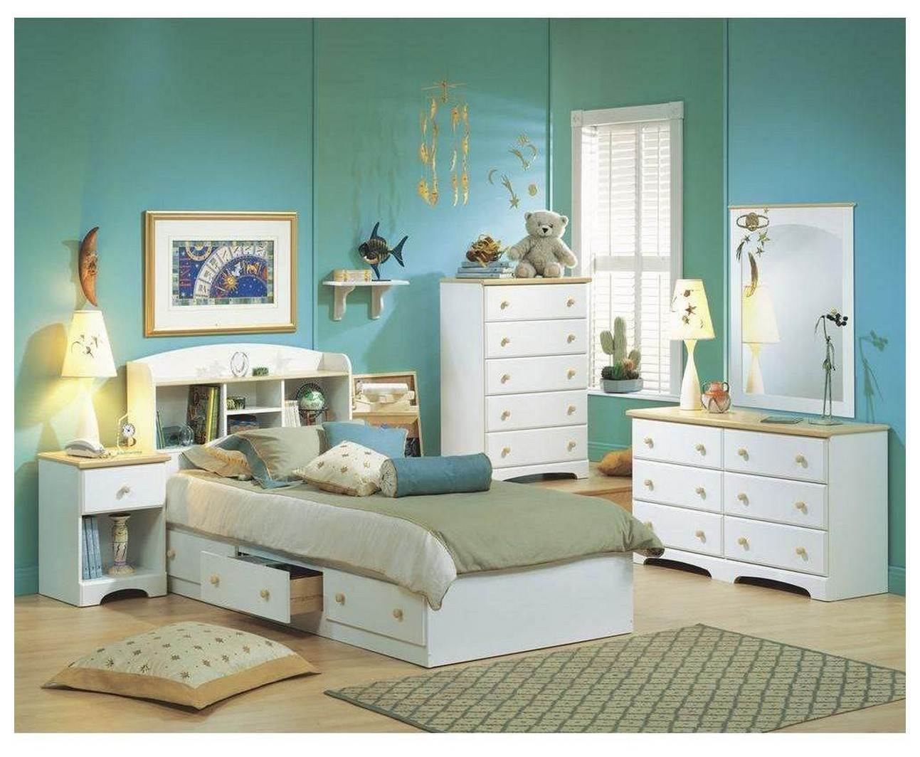 Image of: Ikea Hopen 6 Drawer Dresser Kids
