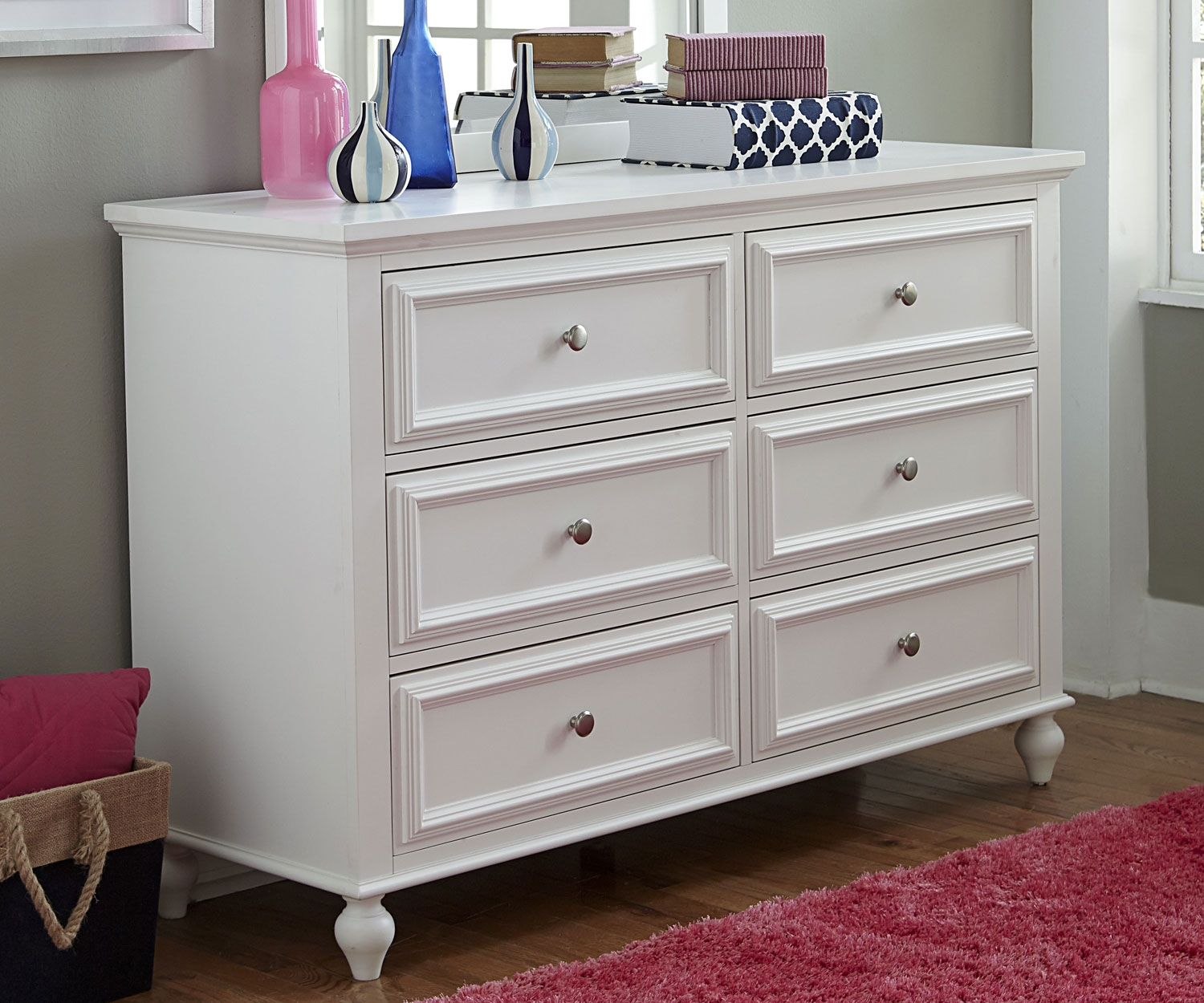 Ikea Hopen Dresser in White