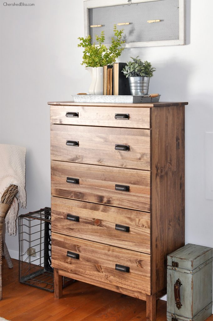 Ikea Tall Oak Dresser