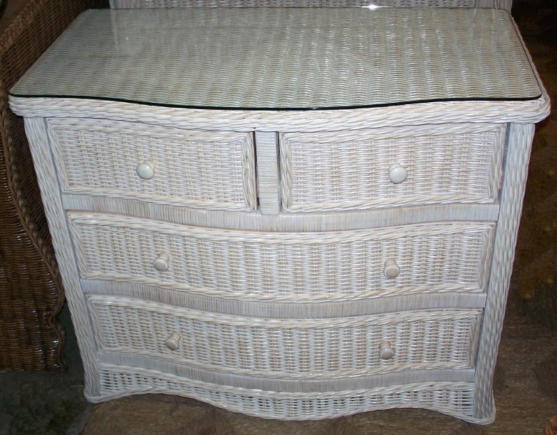 Image of: Indoor Wicker Storage Chests