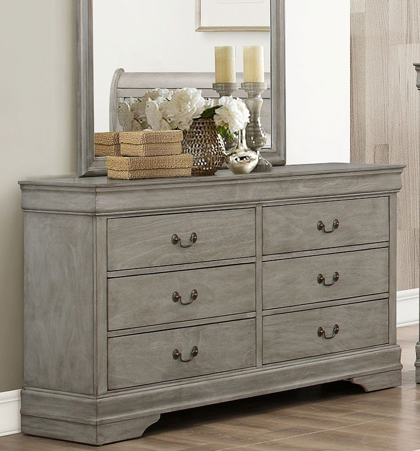 Image of: Interior Grey Dresser Walmart