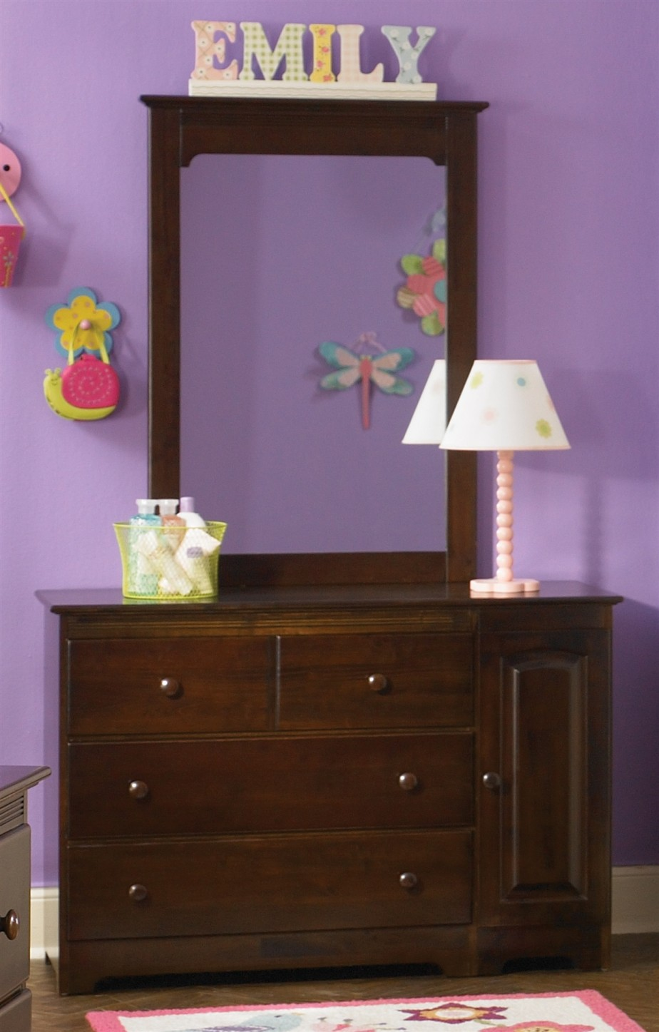 Picture of: Kids Dresser With Mirror
